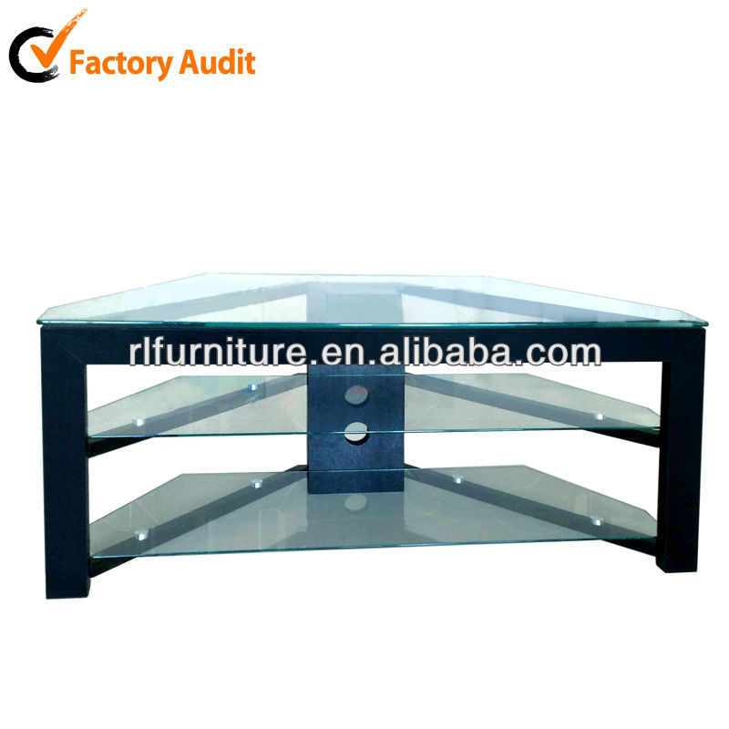 triangle shape tempered tv stand design rm014 buy tv stand triangle tv stand tempered tv stand design product on alibaba com