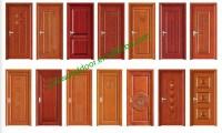 2016 New Design Mdf Solid Wooden Door Single Design Wooden ...