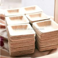 Wholesales Healthy Polished Disposable Wooden Party Plates ...