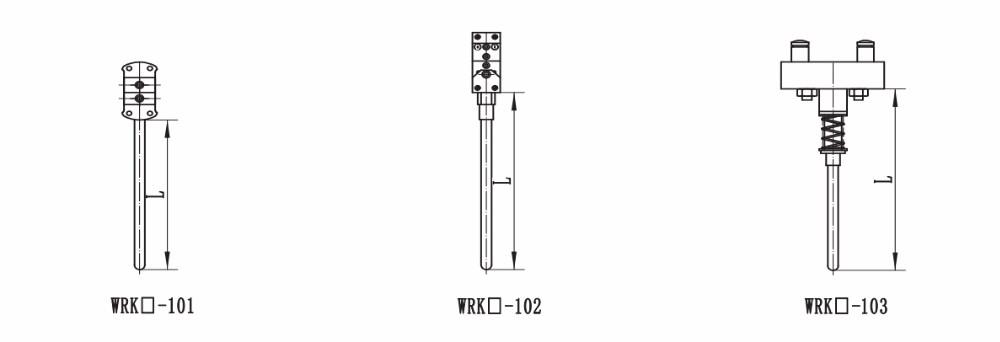 GPT K type thermocouple simple probe temperature sensor