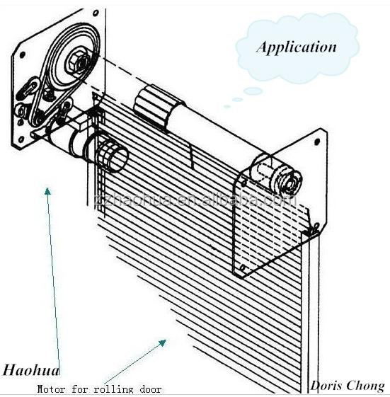 Ac 1000kg Roll-up Door Motor / Garage Door Opener