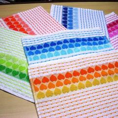Towel For Kitchen Apron Front Sink Heart Design Buy Tea