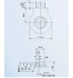 mfz9 90yc hydraulic solenoid coil for safety valve high pressure 12v valve with factory direct [ 750 x 2365 Pixel ]