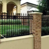 2017 Modern Residential Wrought Iron Fence Design - Buy ...