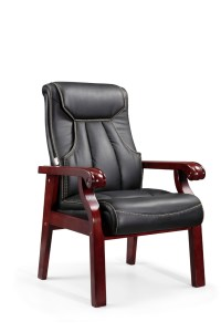 Chair Office Furniture Royal Chair With Wood Armrest 901d ...