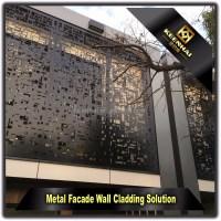 Laser Cut Indoor Decorative Aluminium Perforated Metal ...