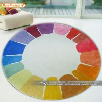 Colorful Best Quality Hand Tufted Wool Round Carpet For ...