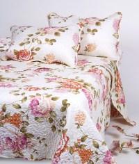 3pcs Custom Color Printed Flower Patchwork Bed Sheet ...