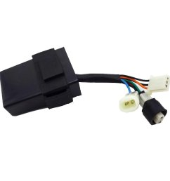tc motor ignition cdi box 7 wires for chinese 250cc engine quad 4 wheeler atv [ 1001 x 1001 Pixel ]