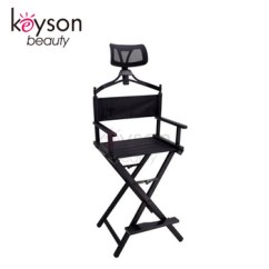 Make Up Chair Chairs That Swivel And Recline Keyson Aluminum Makeup Portable Director With Headrest