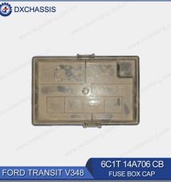 genuine fuse box cap for ford transit v348 6c1t 14a076 cb [ 1000 x 1000 Pixel ]