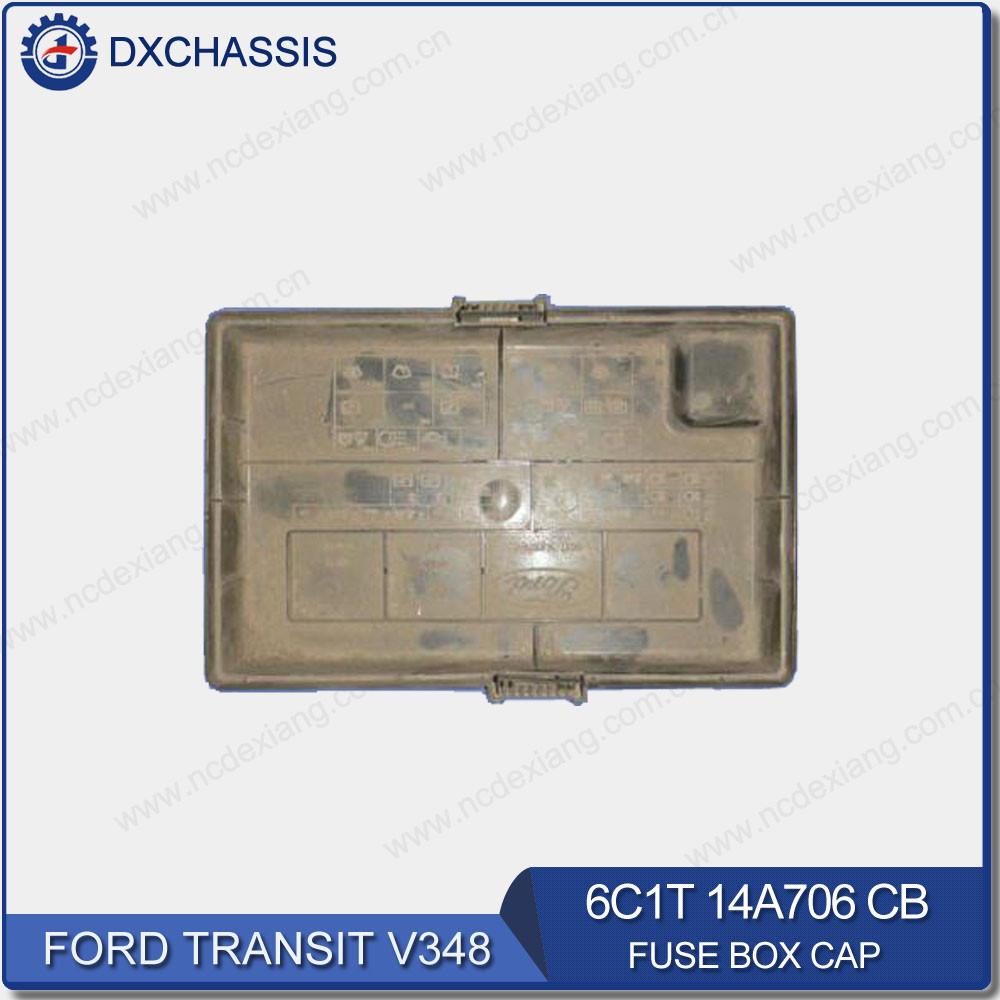 medium resolution of genuine fuse box cap for ford transit v348 6c1t 14a076 cb