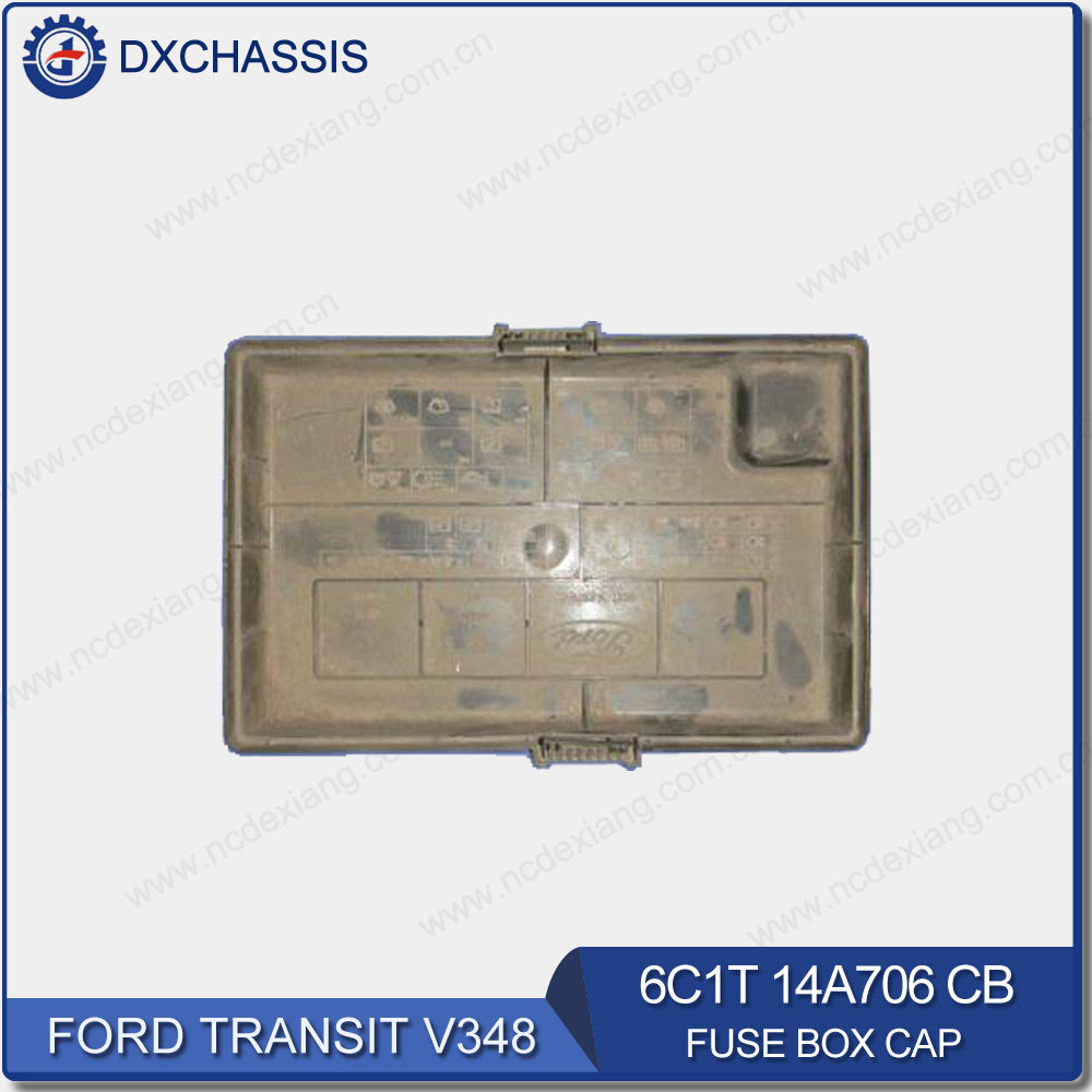 hight resolution of genuine fuse box cap for ford transit v348 6c1t 14a076 cb