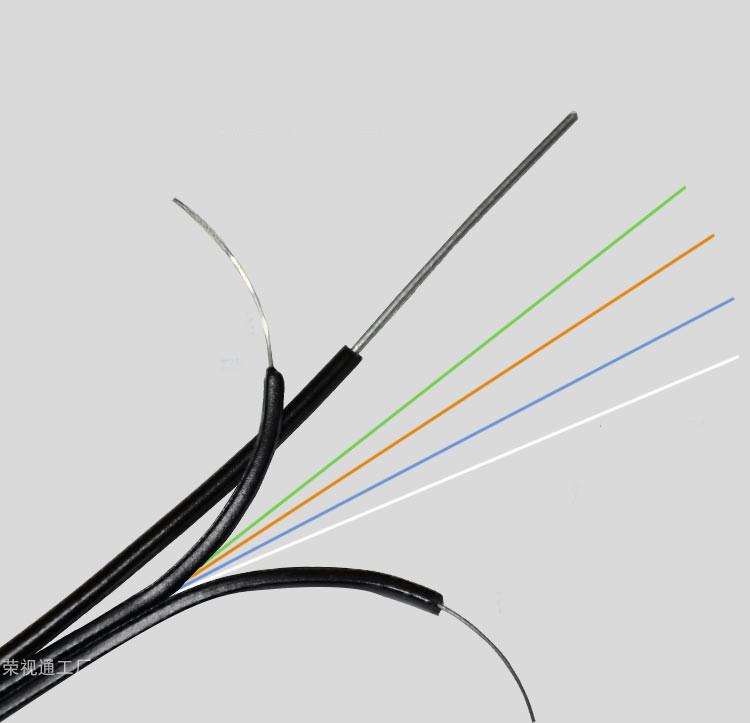 4 Core Self Supported Outdoor Ftth Fiber Optic Drop Wire