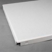 Metal Ceiling System Aluminum Square Clip-in Ceiling Tile ...