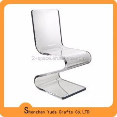 Z Shaped High Chair Chairs For Bad Lower Back Finished Furniture Clear Acrylic Holder