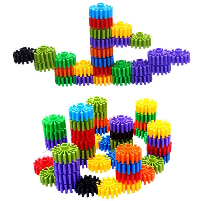 Promotional Kids Building Blocks Connect Plastic Bricks Toys, View ...