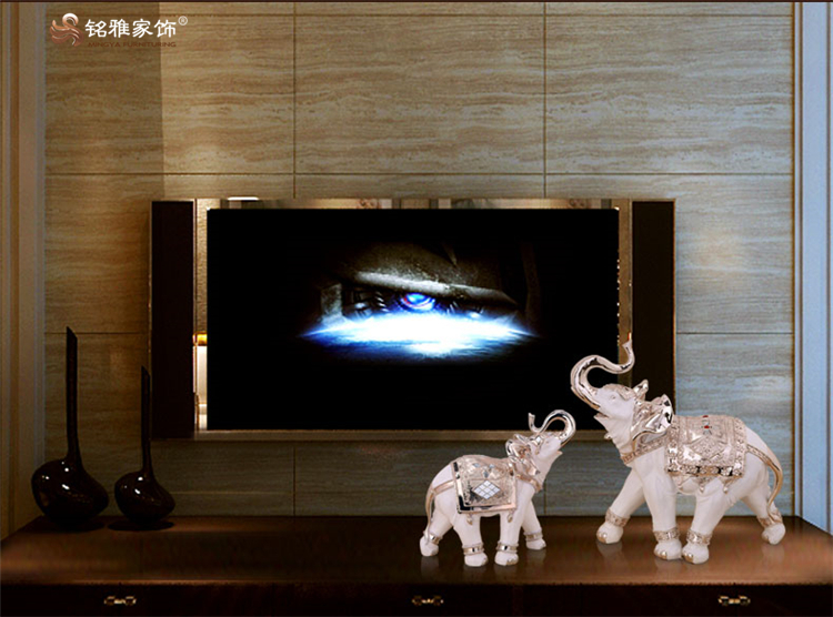 Wholesale Home Decor Crafts Modern Resin Elephant ...