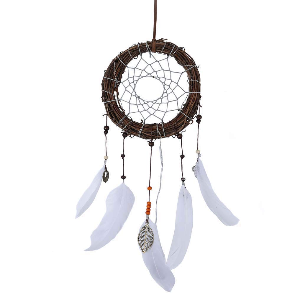 medium resolution of get quotations dirance dreamcatcher feather led string light copper wire fairy night light lamp festival girl bedroom home