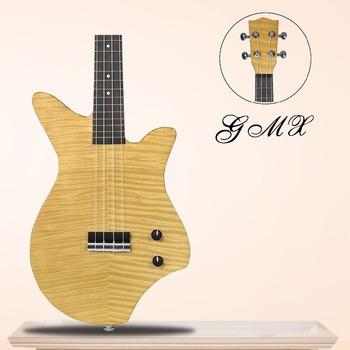 cheap plywood ukulele electric