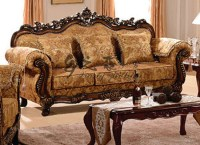 Carved Sofa Wood Sofa Set Wooden Hand Carved Sets - TheSofa
