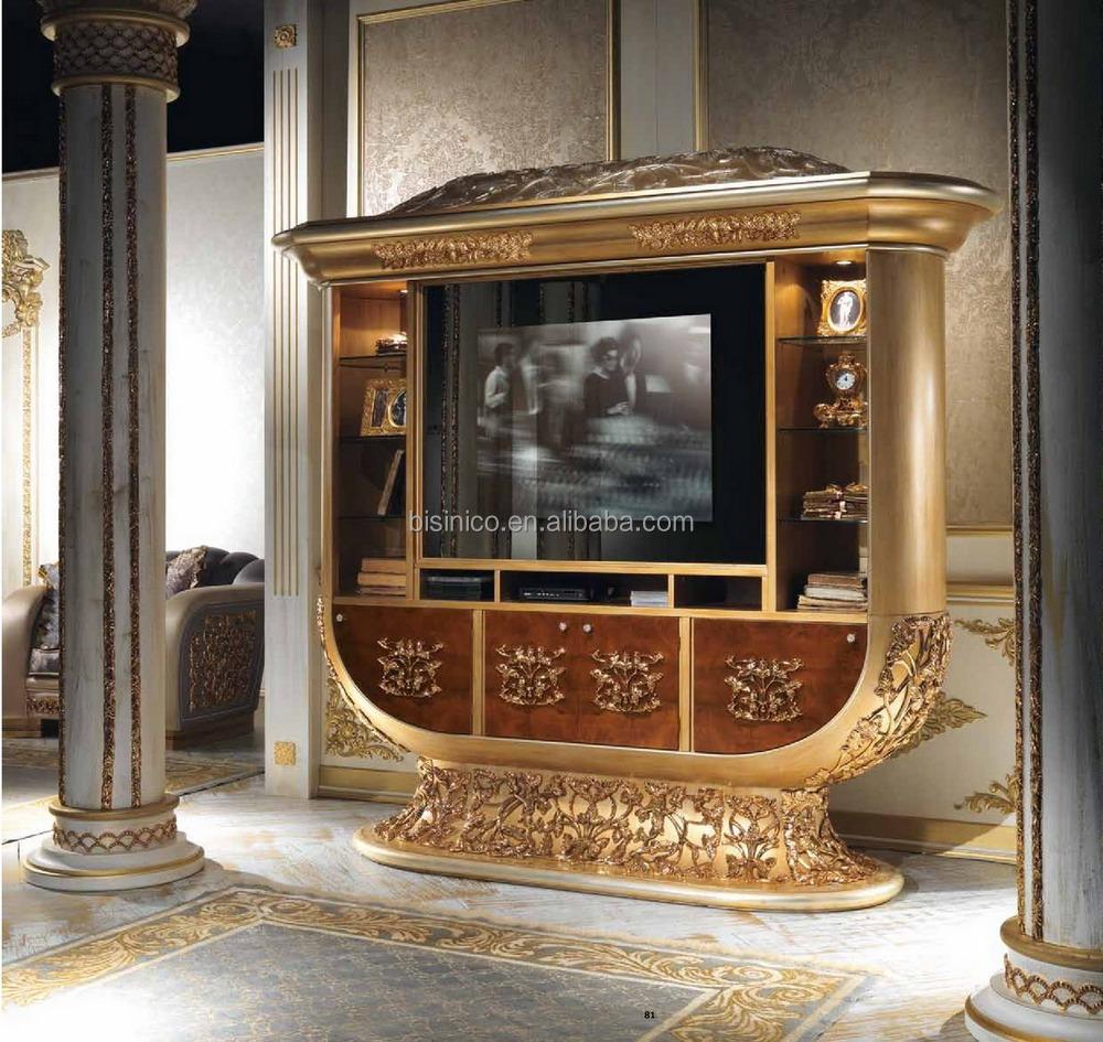 Luxe Style de Design italien laiton et bois salle  manger
