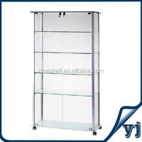 Curio Corner Glass Display Wine Cabinet / Wine Cabinet ...