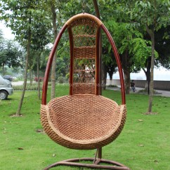 Egg Wicker Chairs Outdoor Button Tufted Chair Hanging Rattan Swing Mid Century Wicker-egg-bamboo-chain-wooden Vtg Retro - Buy ...