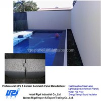 Swimming Pool Wall Panel Eps Sandwich Panel - Buy Swimming ...