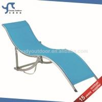 Lounge Chair Aluminium Sun Bed Italian Beach Chair