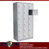 Multi Door Pigeon Hole Cabinet / 3 Layers 15 Doors Steel ...