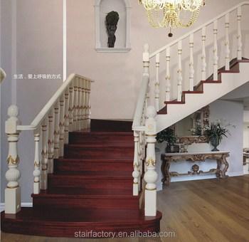 European Fashion Wooden Staircase Beech Oak Staircase Solid Wood | European Oak Stair Treads | Basement Stairs | Hardwax Oil | Lumber | Risers | Wood Stair Railing