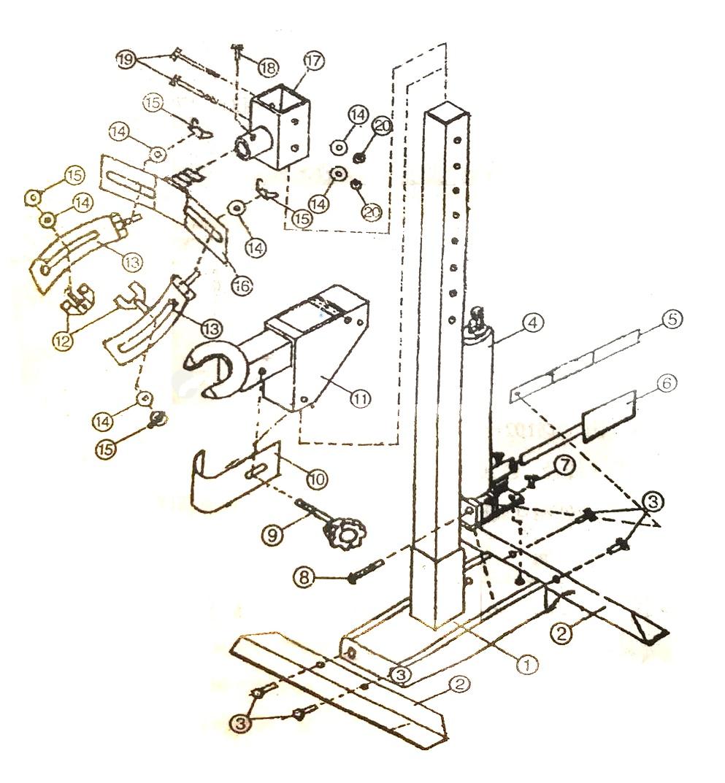 medium resolution of 2 ton pneumatic hydraulic strut coil spring compressor s t60