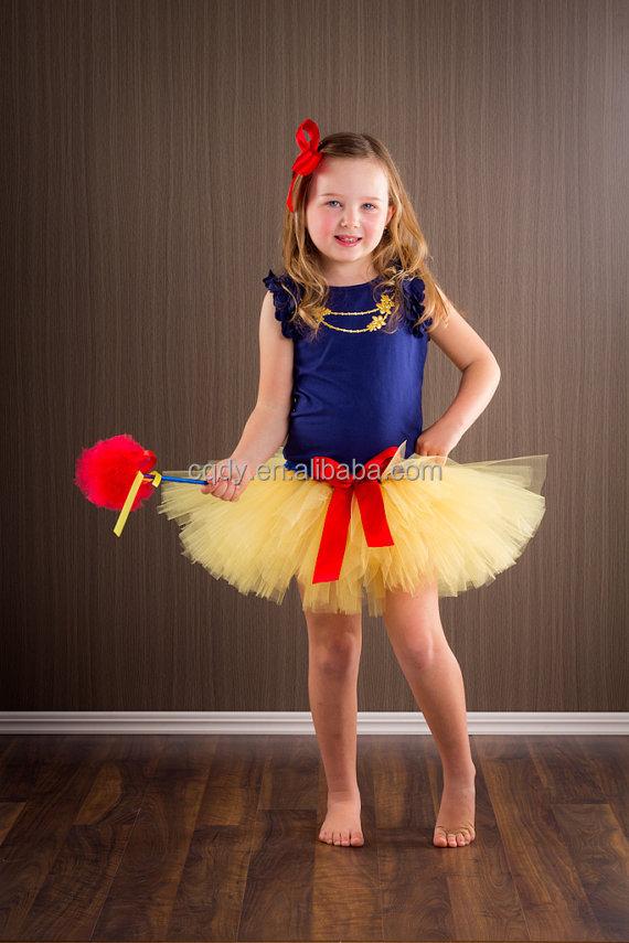 Little Girl Tutu Fairy Skirt Halloween Fancy Dress