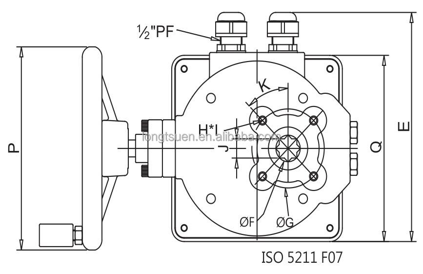 UM-3-1 direct mount series Taiwan IP67 waterproof