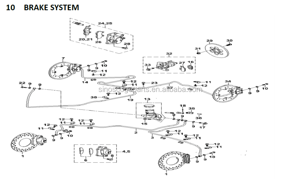 Rear Shock,Airbag Shock,Hs700utv,Hs500utv,Msu500-700,Msu