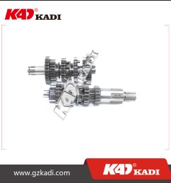 motorcycle parts gear box gearbox main shaft and counter shaft assembly for engine arsen 150 ii horse 150 i buy motorcycle gear box motorcycle  [ 1000 x 1000 Pixel ]