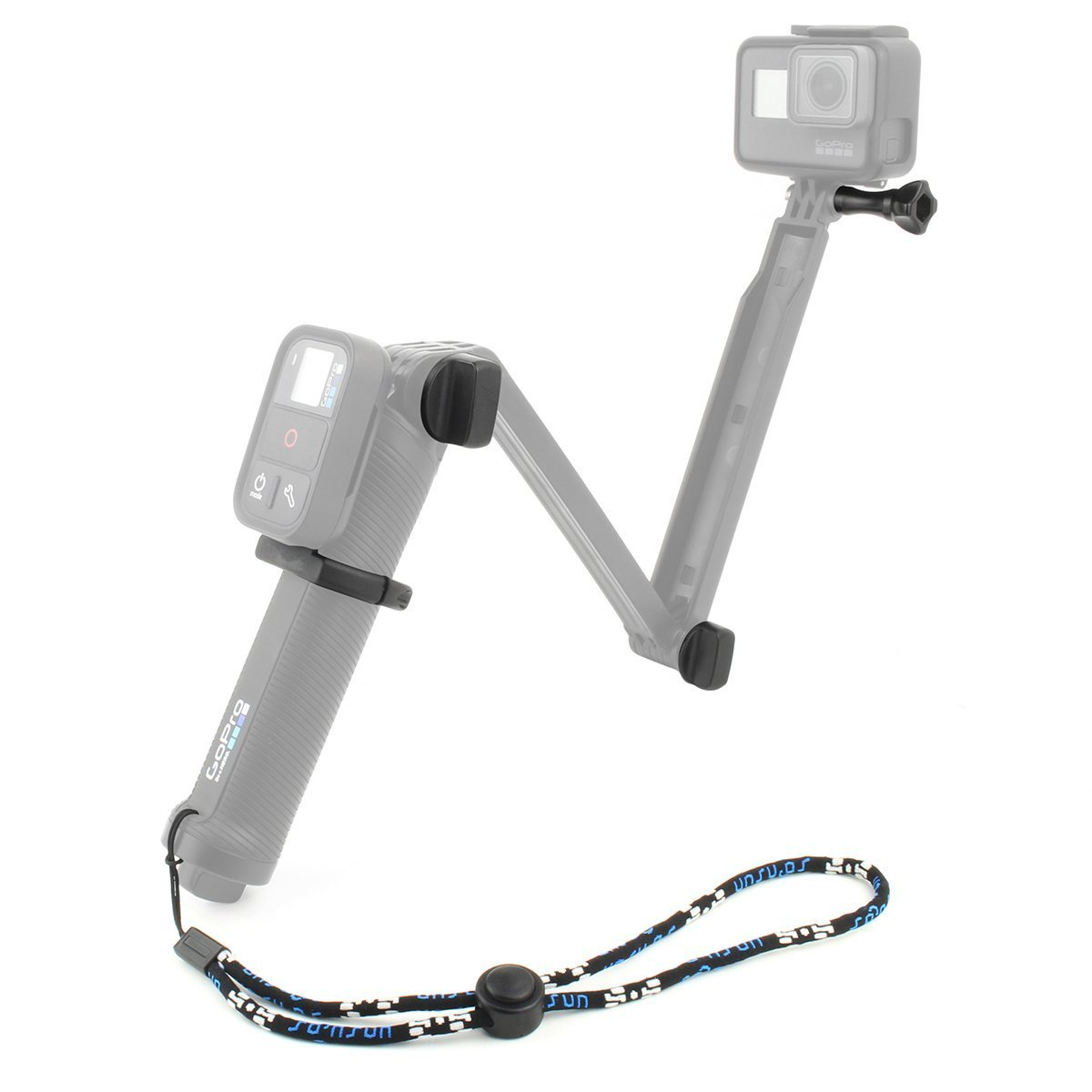 hight resolution of get quotations soonsun thumb screw bolt kit replacement with wifi remote clamp mount holder and wrist strap for