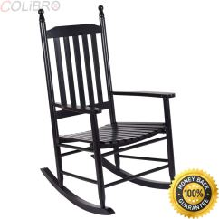 Ikea Rocking Chair Outdoor Table Rentals 2 Cheap Wooden Chairs Find Deals On Line At Get Quotations Colibrox Porch Rocker Armchair Balcony Deck Garden Furniture Black Indoor