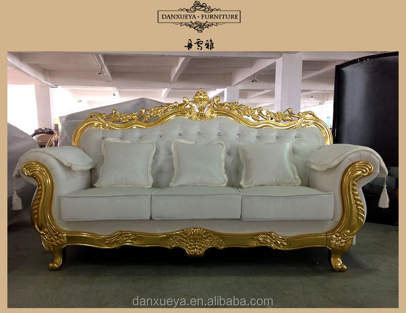 gold sectional sofa off white happy christmas home furniture french provincical style set