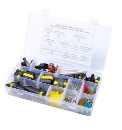 get quotations winomo waterproof electric wire connectors set connectors insulated wiring terminals heat shrink quick locking wire harness [ 1200 x 1200 Pixel ]