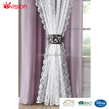 window curtains living room stone floor design double layer high quality curtain designs