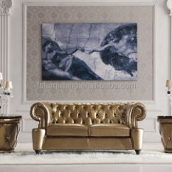Gold Leather Sofa Set 72 Inch Brown Ls168 Luxury White Metal Crystal Button Modern Neolcassic Living Room Chesterfield