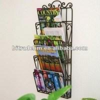 Wall Hanging Metal Magazine Rack - Buy Metal Newspaper ...