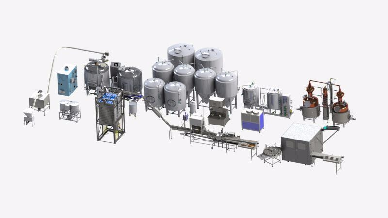 Complete Craft Beer Making Brewery Machine Cost To Build A