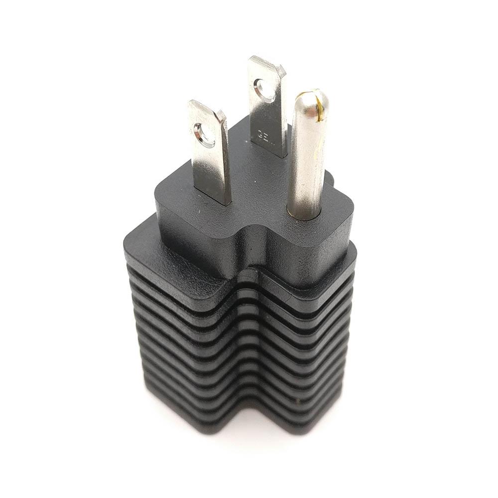 hight resolution of ac plug converter nema 5 15p male to nema 5 15r female 5