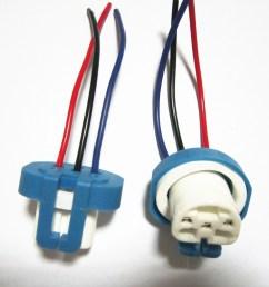 get quotations 10pcs lot 9007 ceramic connector 9007 bulb socket auto lamp base adapters car headlight [ 1000 x 1005 Pixel ]