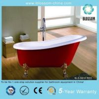 Red Color Clawfoot Bathtub - Buy Red Color Clawfoot ...