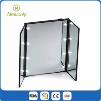 3 Way Folding Single Side Vanity Led Makeup Mirror Led ...