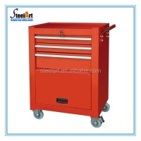 5 Drawers Metal Tool Storage Cabinet On Wheels - Buy Tool ...